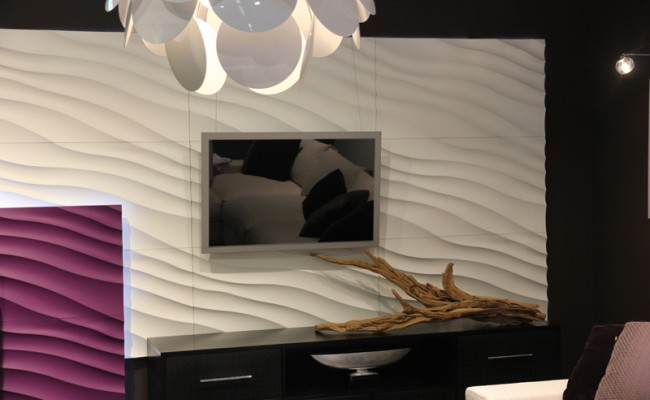 Duna - стеновая рельефная панель 3D
